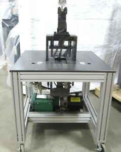 Hydraulic Press Pump W Opposed Parker Cylinders Valves table Assembly 120vac