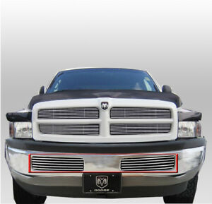 94 01 Dodge Ram Pickup Truck Front Bumper Lower Billet Grille Grill 95 96 97 98