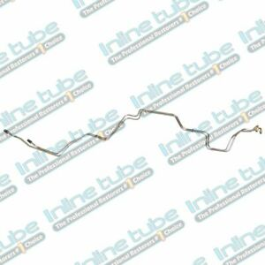 1990 93 Ford Mustang Automatic Aod Transmission Cooler Lines Trans Tube Stainles