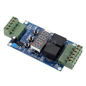 12v Dual Programmable Relay Control Board Cycle Delay Timer Switch Module