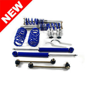 Rsk Street Coilover Kit 06 09 Vw Mk5 Rabbit Jetta Gti R32 Blue