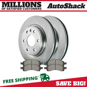 Front Rotors And Ceramic Pads For 2007 2012 2013 Gmc Acadia 2009 2013 Traverse