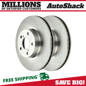 Front Brake Rotor Pair For 2005 2012 2013 2014 Subaru Outback 2009 2018 Forester