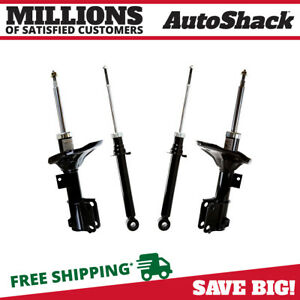 Front And Rear Shock Strut Assembly Set Of 4 For 2001 2005 Sebring Stratus 3 0l