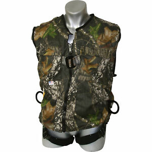 Guardian Fall Protection Camouflage Construction Tux Harness Xxl