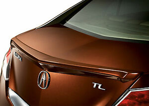 Painted Spoiler For An Acura Tl Lip Factory Style Spoiler 2009 2014