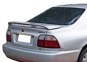 Spoiler For A Honda Accord 2 4dr Factory Style Spoiler 1995 1997