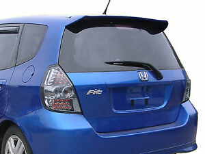 Unpainted Spoiler For A Honda Fit Factory Style 2004 2005 2006 2007 2008