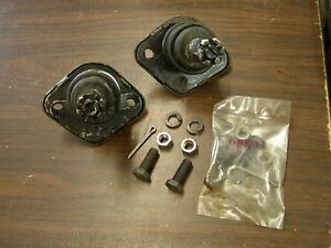 Nos Ford 1957 1964 Fairlane Galaxie Upper Ball Joints 1959 1960 1961 1962 1963