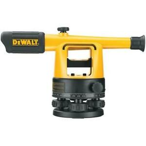 Dewalt Dw090pk 20x Builders Level Package W Rod Tripod