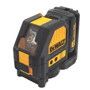 Dewalt Dw088lr 12 volt Self leveling Locking Pendulum Red Cross Line Laser