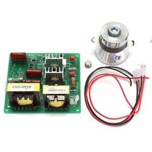 110v 100w 40khz Ultrasonic Cleaner Power Driver Board With 60w 40khz Transducer
