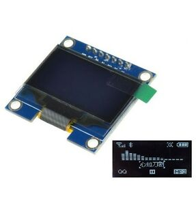1pcs 1 3 White Spi Serial 128x64 Oled Lcd Display Screen Module For Arduino