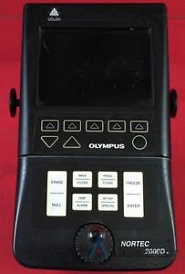Nortec olympus 2000d The Nortec 2000d Eddy Current Flaw Detector Offers A Fr