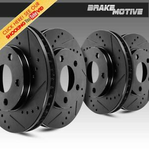 Front And Rear Brake Disc Rotors For 1994 2004 Ford Mustang Sn95
