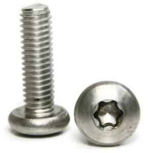 Stainless Steel Torx Pan Head Machine Screw 5 16 18 X 1 Qty 100