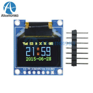 0 95 Inch 7pin Full Color 65k Color Ssd1331 Spi Oled Display Module For Arduino