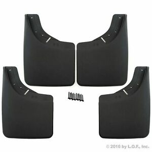 1988 98 Chevy Gmc C k 92 99 Suburban Mud Flaps Guards Splash Front Rear 4pc