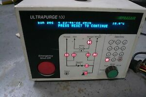 Praxair Up100 Ultrapurge Gas Cabinet System Controller Used