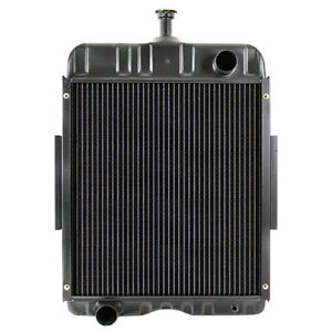 378713r92 Gear Drive Radiator For International Tractor 656 666 706 756 Gas