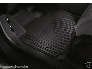 Genuine Oem Honda Cr v High Wall All Season Floor Mat Set 17 18 08p17 tla 110