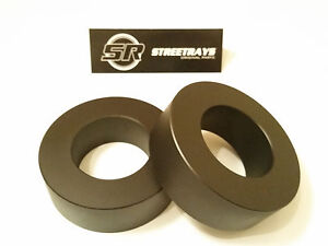 streetrays Aluminum Jeep Jk Front 1 5 Leveling Lift Kit Wrangler 07 18 Black