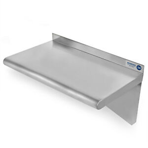 Commercial Stainless Steel Restaurant Kitchen Shelf Wall Shelving 18 X 24