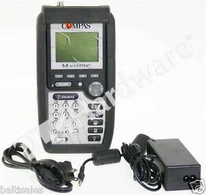Fluke Microtest Compas 2939 4000 06 Lan Network Cable Tester Scanner