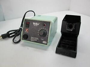 Weller Ec1002 Soldering Station W Gun Stand No Iron cord 120vac 60hz 60 Watts