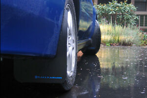 Rally Armor Classic Mud Flaps Kit W Blue Logo For 02 07 Wrx Sti Rs 2 5 I