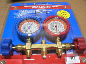 Imperial Refrigeration Air Conditioning Service Manifold 421 cc