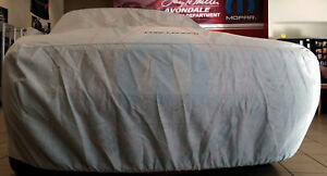Dodge Challenger Car Cover Custom Fit W Black Challenger Logo New Oem Mopar