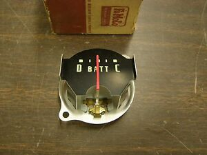 Nos Oem Ford 1956 Truck Pickup Amp Charge Gauge Indicator Dial Type