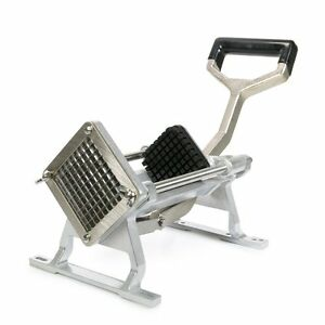 French Fry Cutter 1 4 Blade Stainless Steel Potato Vegetable Slicer Mountable