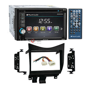 Planet Audio Car Radio Stereo 2 Din Dash Kit Harness For 2003 07 Honda Accord