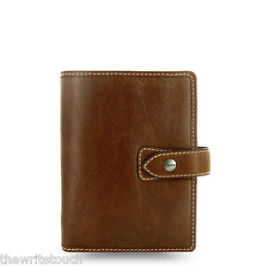 Filofax Pocket Size Malden Organizer Ochre Leather 025842 Just Arrived