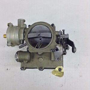 Rochester 2g Carburetor 1959 1961 Chevy Cars V8 Engines W Out Ac