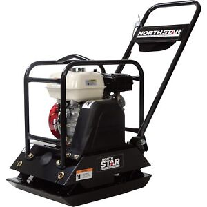 Northstar Single direction Plate Compactor With Honda Gx160 Engine