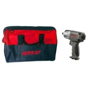 3 8 Drive Nitrocat Impact Wrench With Aircat Bag Aca1355 xlbag Brand New