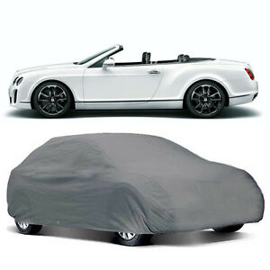 U a a Inc Deluxe Xx large Universal Gray Weather Resistant Car Cover