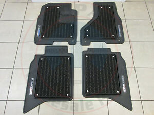 Dodge Ram Limited Front Rear Set Of Luxury Floor Mats New Oem Mopar