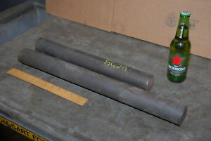 8620 lot Of 2 2 1 8 Round Steel Bars Anvil 40 Lbs Inv 24256