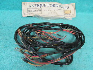 1954 Ford V8 Truck Cowl Dash Wiring New 117