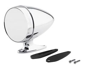1964 1968 Ford Mustang Chrome Bullet Mirror With Short Base And Standard Glass