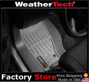 Weathertech Floor Mats Floorliner Jeep Liberty 2008 2012 Grey