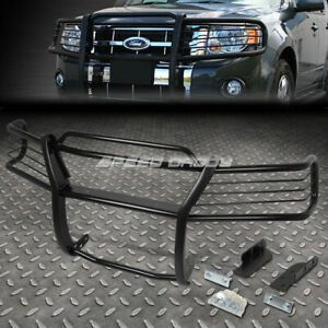 For 02 05 Ford Explorer 4 door Black Coated Mild Steel Front Bumper Grill Guard