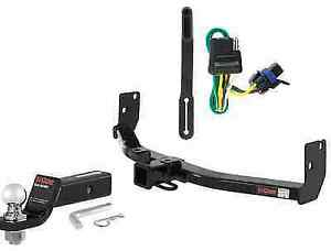 Curt Class 3 Trailer Hitch Tow Package W 2 Ball For Cadillac Srx