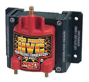 Msd 8251 Pro Power Hvc Coil For Use With Msd 7 Or 8 series Ignitions