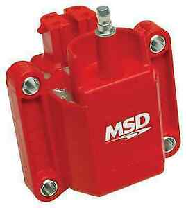 Msd 8226 Red Bolt on Dual Connector Ignition Coil For Camaro firebird cimarron