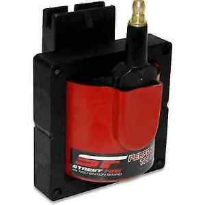 Msd 5527 Red Street Fire Ignition Coil W Epoxy E core For Bronco W tfi Ignition